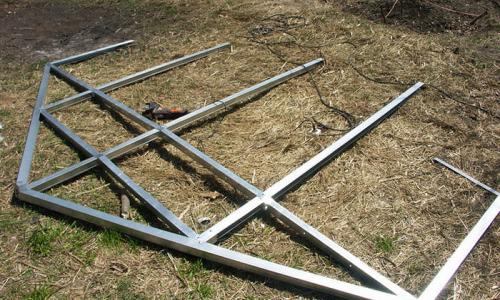 Изготовление гибочных станков для выполнения тепличного каркаса из профильных труб