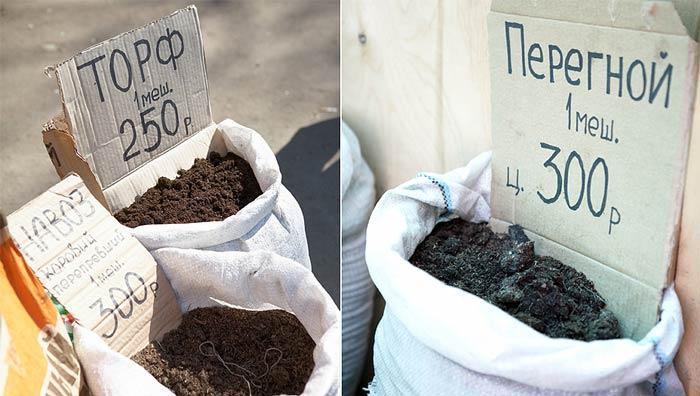 Почву подготавливают еще осенью. В ее состав должны входить:  навоз, углеводсодержащие удобрения, торф, дерн, сено или солома, азотсодержащие удобрения