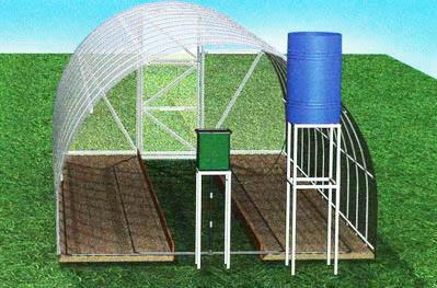 Автополив в теплице экономит время и делает полив растений регулярным