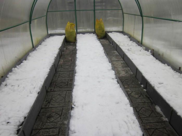 Даже очень качественная зимняя конструкция не способна поддерживать комфортный для растений температурный режим, если на улице холодно
