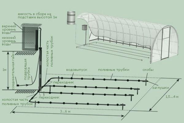 Сделать автоматическую систему полива в теплице под силу каждому