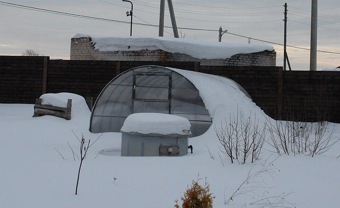 Каркас теплицы разработан для российских климатических условий