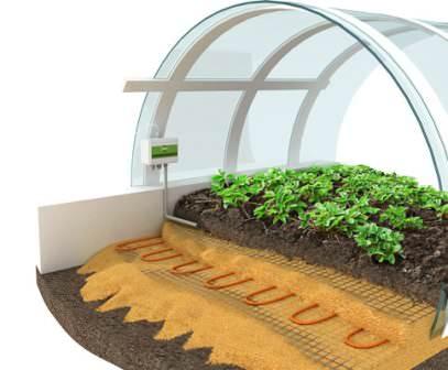 Применение теплого пола в теплице позволит делать высадку рассады в более ранние сроки, выращивать теплолюбивые тропические растения, использовать теплицу для проращивания семян, а также без особых трудозатрат сохранять в условиях климатического комфорта клубни, луковицы, овощи