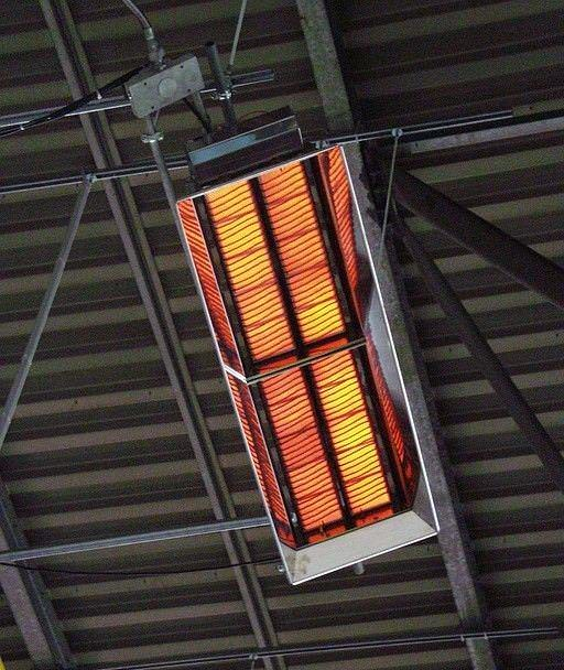 У газовых горелок инфракрасного излучения основой теплового потока является электромагнитное излучение их нагревательных элементов, которые раскаляются при сжигании газа