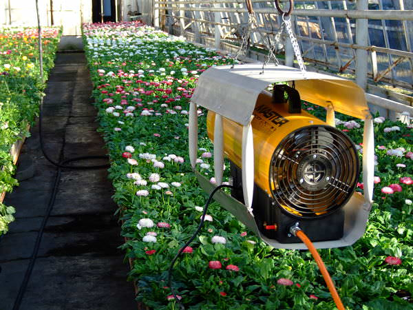 Конвекторы могут содержать электровентилятор, становясь в этом случае газовыми калориферами