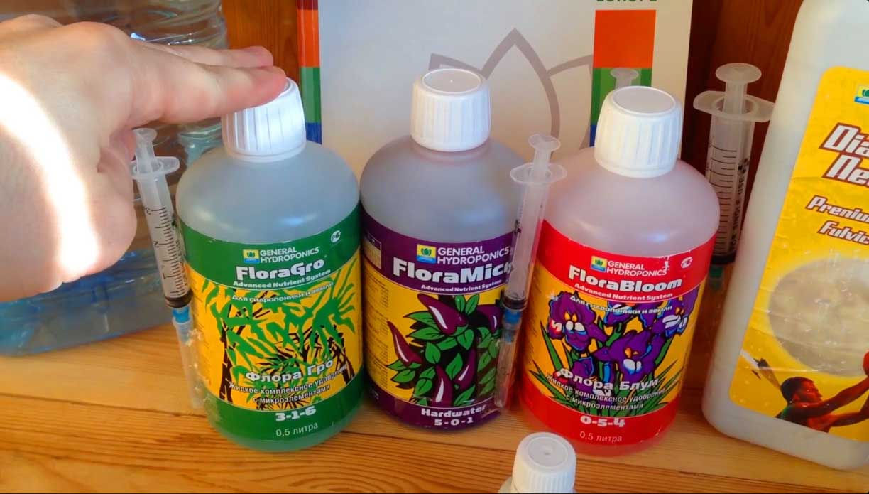 Раствор для гидропоники можно приобрести в специальном магазине для садоводов. Но если есть большое желание, можно изготовить его самостоятельно
