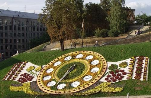 Цветочные часы — это декоративный вид часов, представленных набором определенных травянистых растений