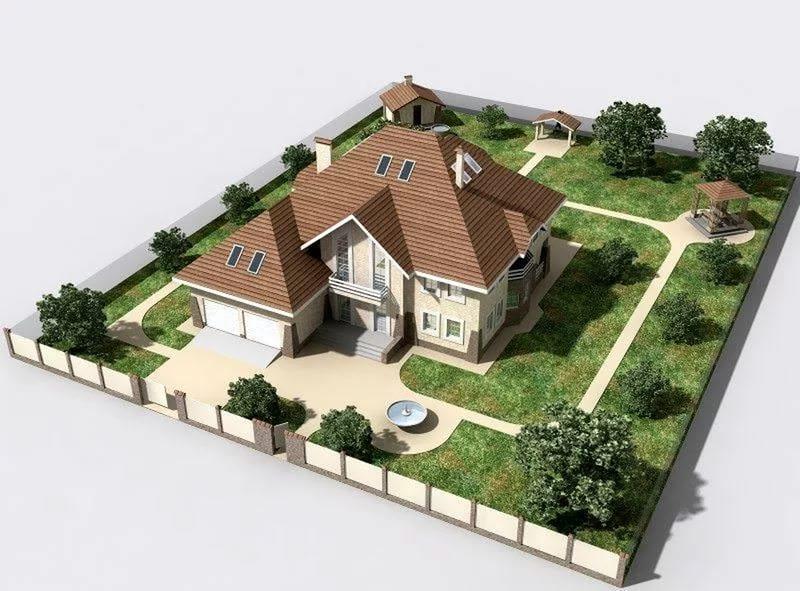 Чтобы вам было удобно, следует заранее спланировать, где будут располагаться дом, а также хозяйственные постройки различного назначения согласно нормам