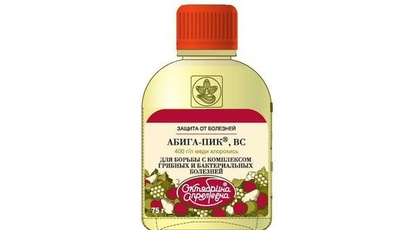 Применение средства Абига-Пик обширное, его используют для борьбы с бактериальными, грибными заболеваниями различного рода