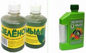Зелёное мыло ценят цветоводы и огородники