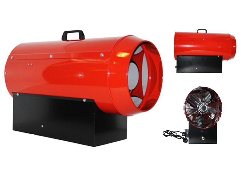 Особенно важно проверить подачу газа, если обогреватель работает на природном топливе