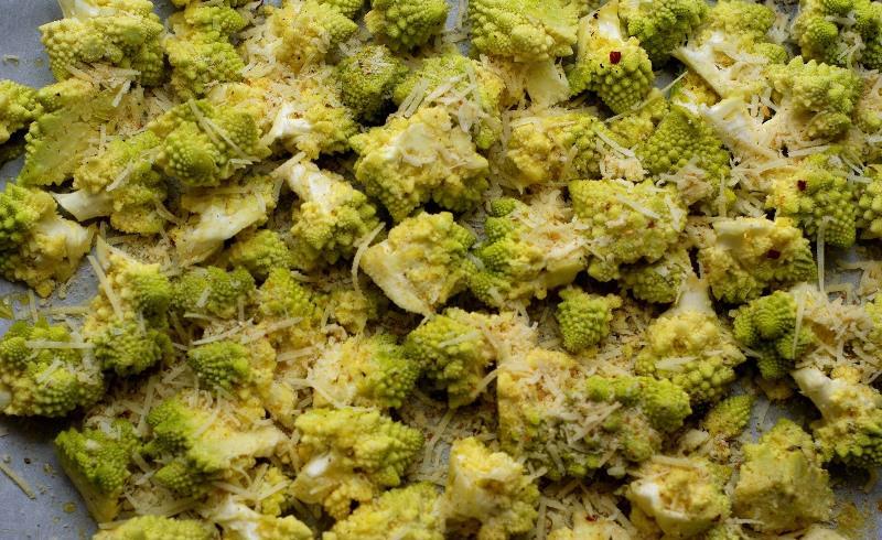 По способу приготовления романеско ничем не отличается от брокколи