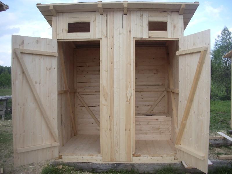 Деревянный домик начинается с каркаса