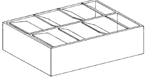 Парник с автоматическими открывающимися рамами