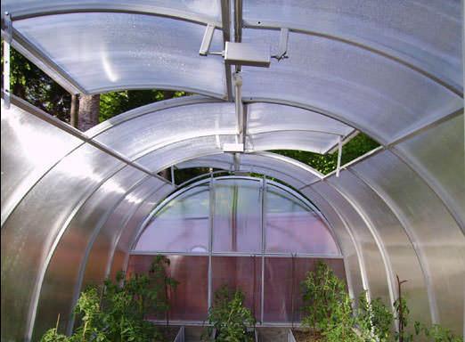 Термопривод оптимально подходит для поддержания микроклимата, который идеален для большинства выращиваемых тепличных культур
