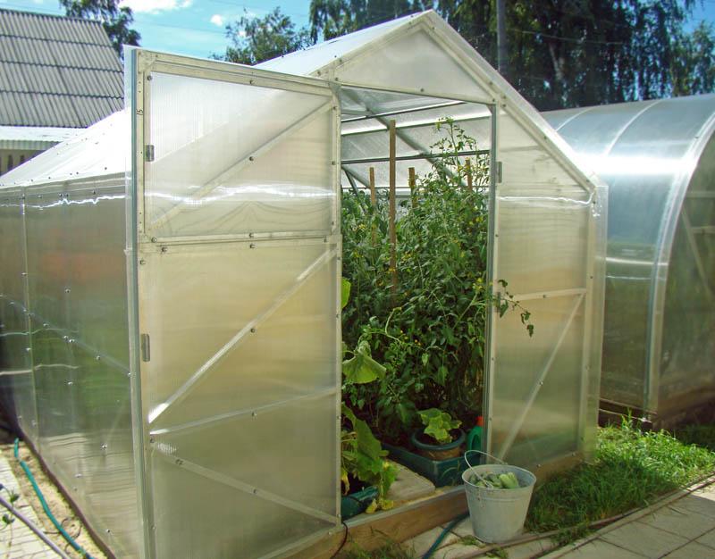 Чудо-теплица «Классик», оснащенная дополнительными элементами – это самый удачный вариант для выращивания различного рода культур.