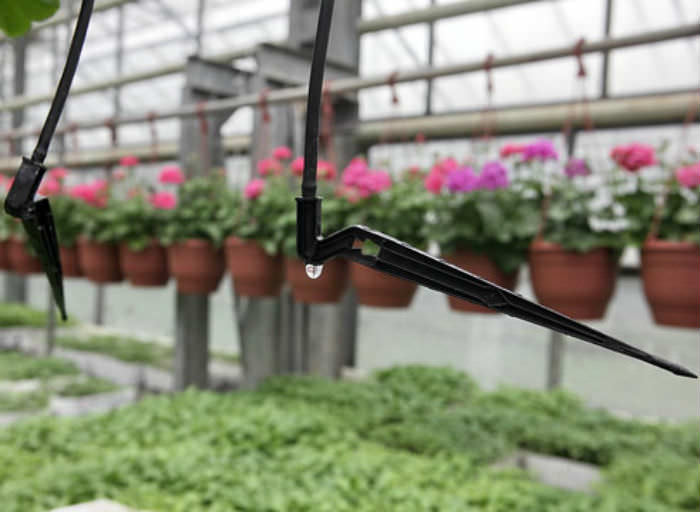 Капельницы для полива часто используют с целью проведения ухода за растениями в парниках, на грядках и в оранжереях