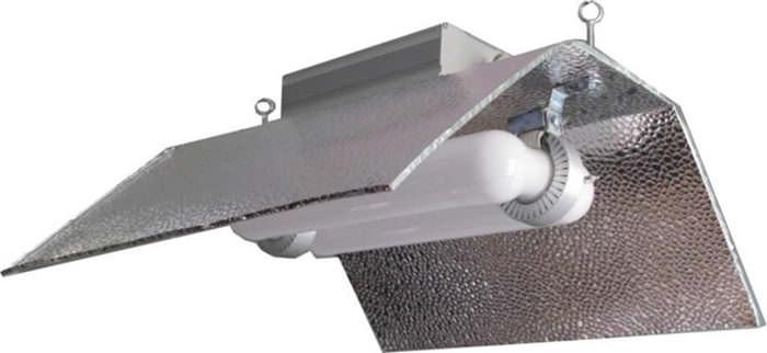 Светильники индукционного типа очень популярны и довольно часто используются для культивирования тепличных растений