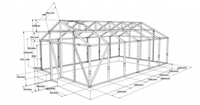 Прекрасные внешние данные и возможность легко собрать конструкцию по схеме делают деревянный каркас популярным и востребованным