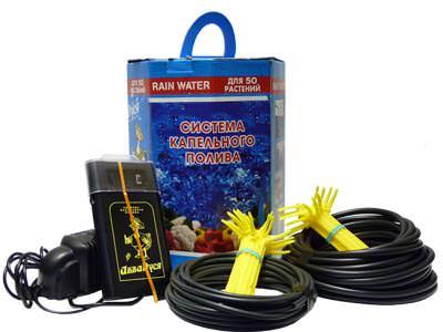 «АкваДуся» – система, предназначенная для проведения полива на небольших открытых участках или в теплицах