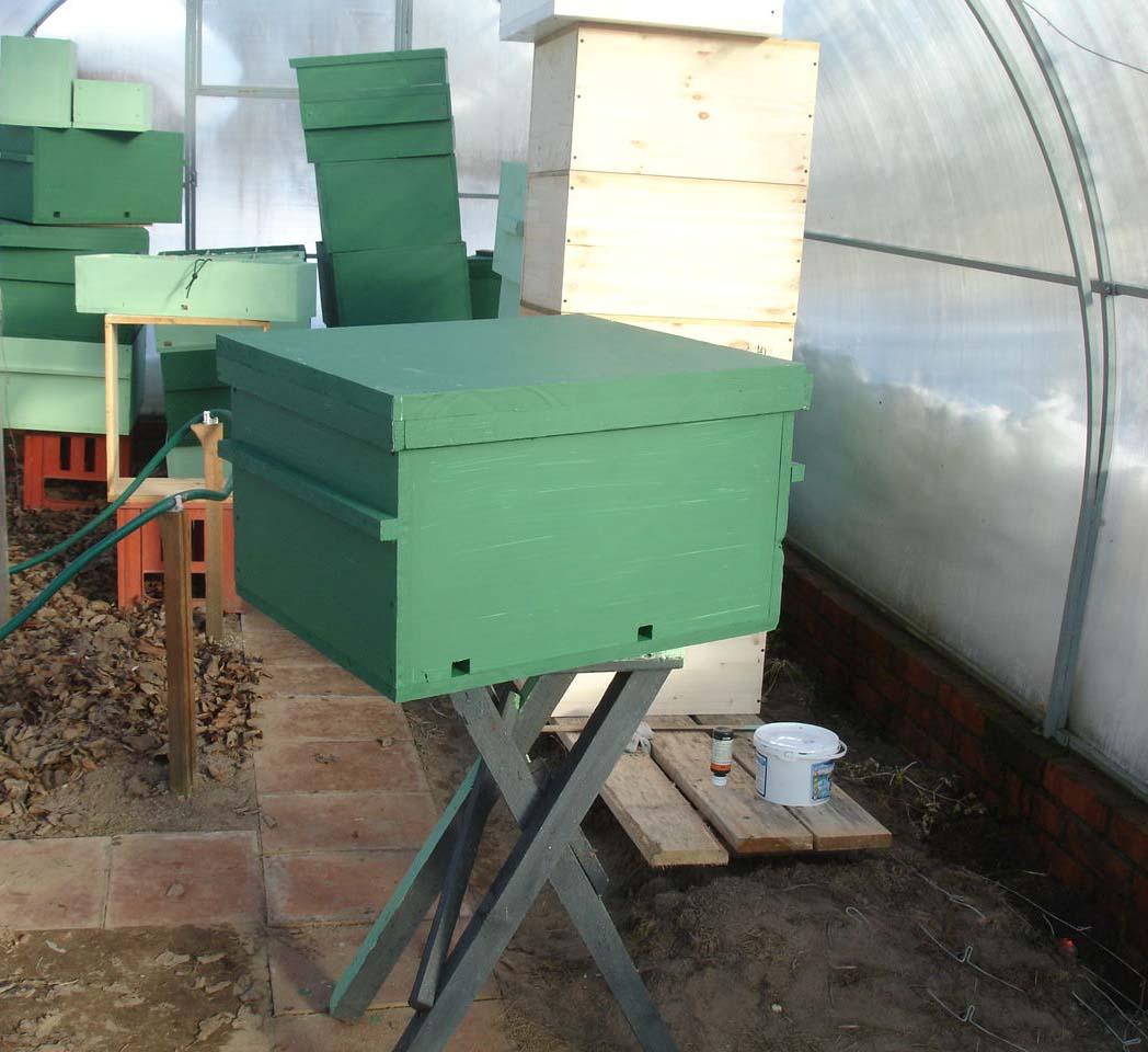 Лучший вариант для зимовки пчел – это теплица из поликарбоната