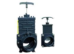 Для обустройства канализации на даче рекомендовано использовать запорные механизмы