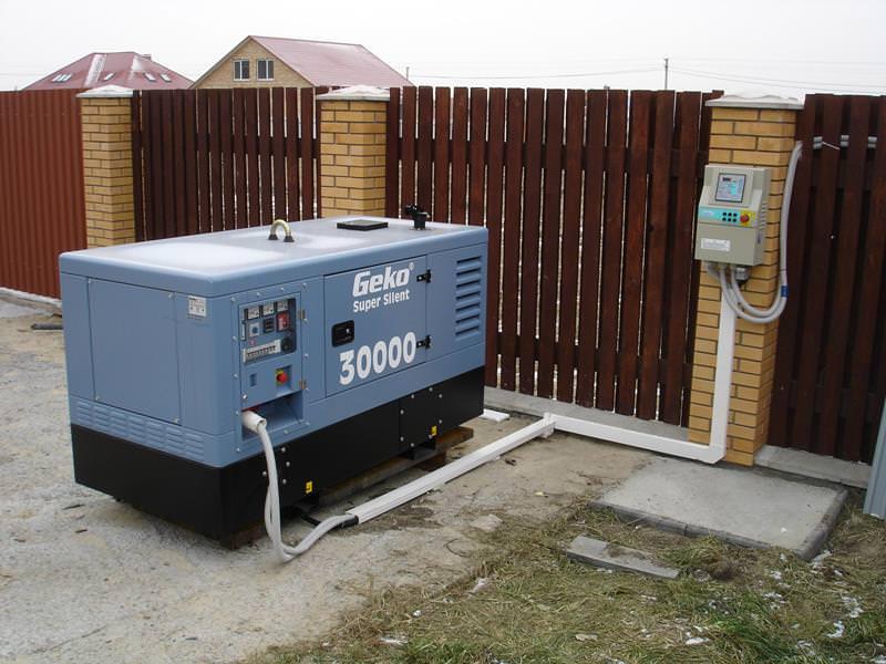 Электрогенератор для дачи функционирует на основе принципа преобразования энергии из механической в тепловую, а затем в электрическую