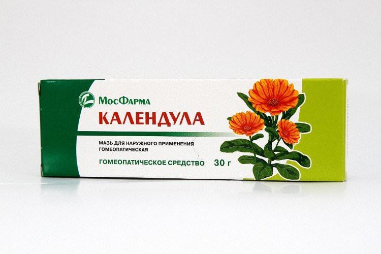 Мазь на основе экстракта календулы является универсальным препаратом, помогающим улучшить состояние кожи
