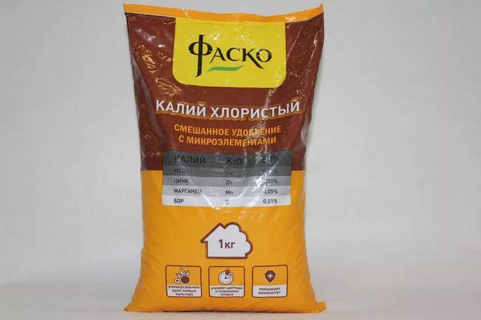 Хлористый калий – одно из самых распространенных калийных удобрений