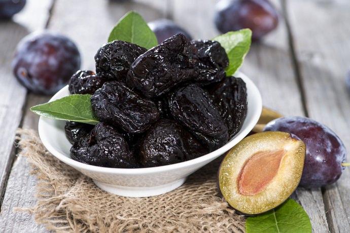 Сушёные сливы славятся своим замечательным вкусом и низкой калорийностью