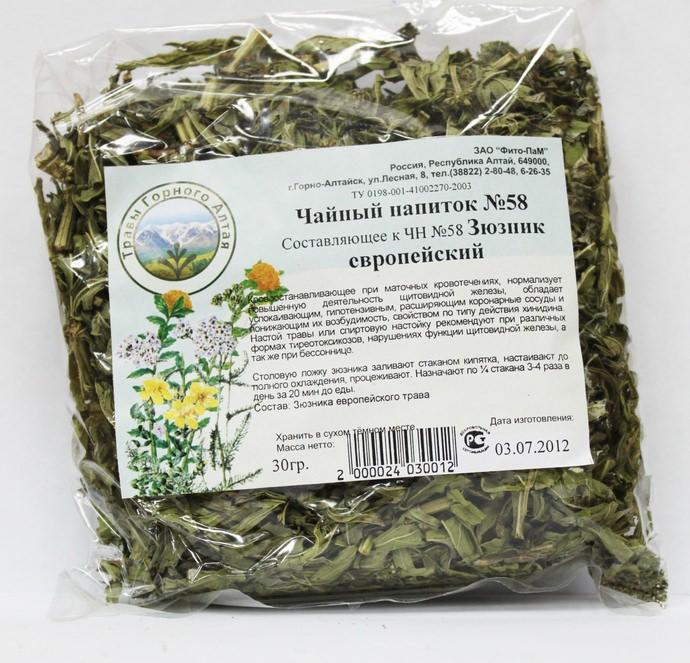 Лечебный чай из зюзника европейского поможет наладить работу щитовидной железы