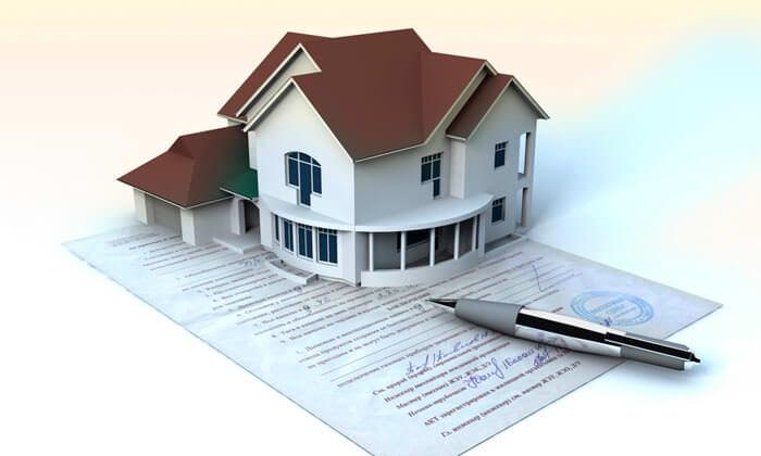 При регистрации дома или иной постройки в простом порядке на них требуется заполнить специальную декларацию