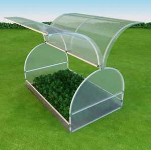 «Бабочка» является отличным изделием для выращивания рассады и огородных культур, пользующимся популярностью у многих дачников
