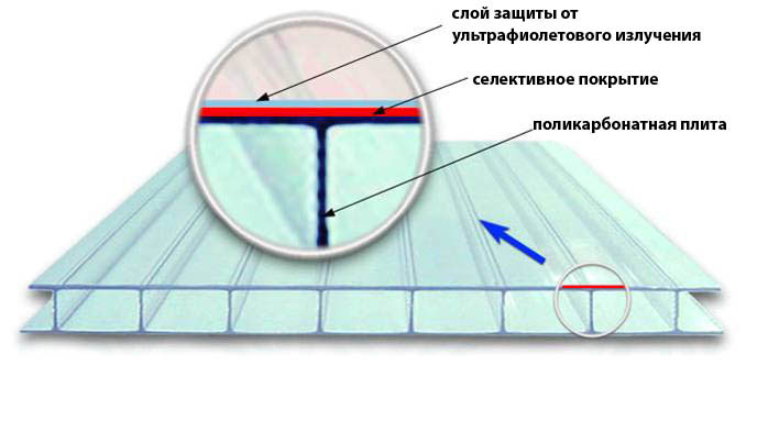 Современная теплица, изготовленная с использованием сотового поликарбоната, имеет значительное количество преимуществ, ознакомление с которыми позволяет выбрать оптимальный вариант покрытия
