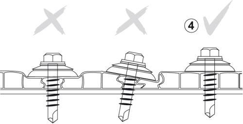 При монтаже необходимо грамотно рассчитывать силу затягивания крепёжных элементов