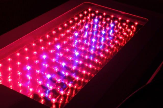 Более современные светодиодные светильники для теплиц имеют втрое меньшее электропотребление при равной светоотдаче и обеспечивают лучший спектр светового излучения