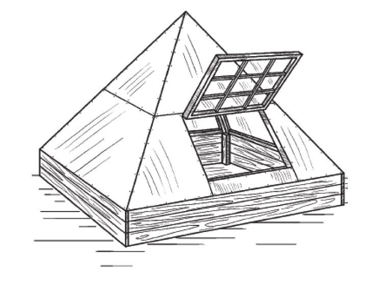 Растения в пирамидальной теплице развиваются значительно быстрее, дают крупные плоды и обильный урожай