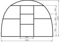 Теплицы из поликарбоната: преимущества и составление чертежа